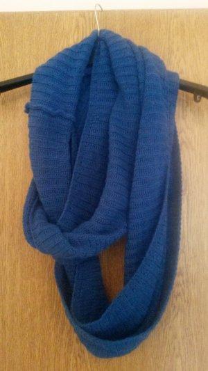 blauer Loopschal
