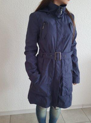 Blauer Mantel Größe 36