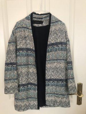 Blauer Mantel in Größe S