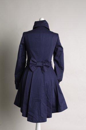 Blauer Mantel mit Schleifen NEU Topshop
