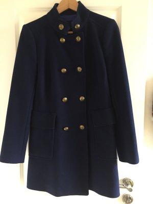 Blauer Mantel Zara, Gr.L