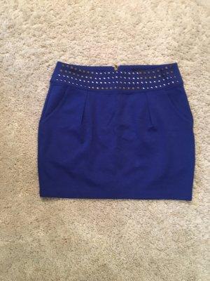 bebe Mini-jupe bleu
