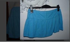 blauer minirock gr 38 kurz