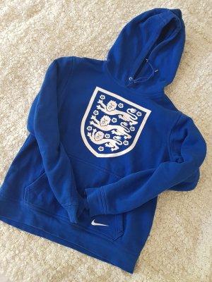 Nike Pull à capuche bleu
