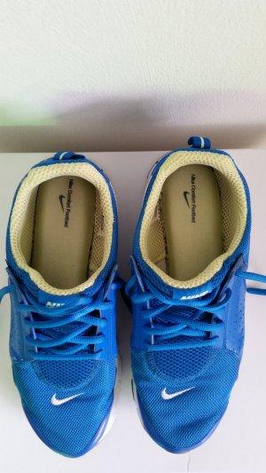 Nike Zapatilla brogue azul-verde pradera