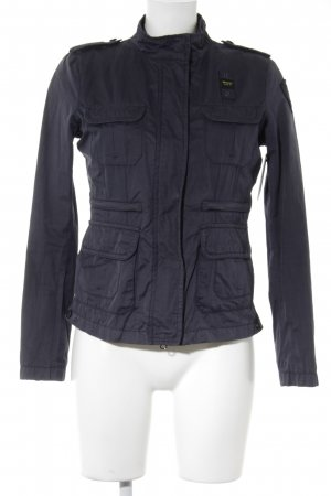 Blauer Outdoorjacke dunkelblau Military-Look