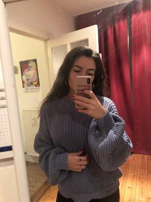 Blauer oversized pullover von nakd