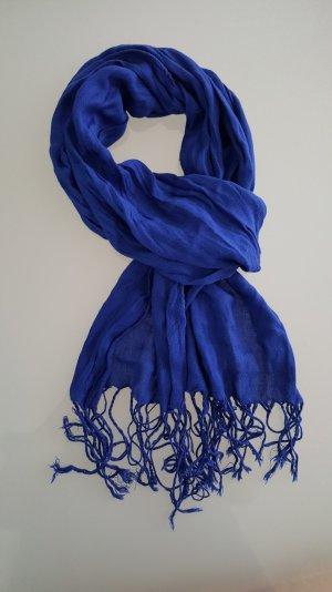Blauer Paschmina Schal