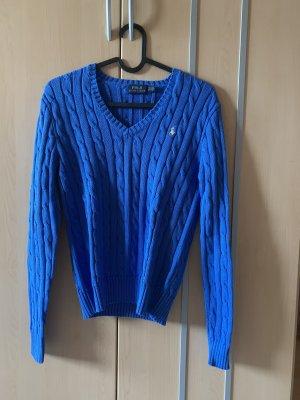 Polo Ralph Lauren Jersey de punto azul acero-azul aciano Algodón