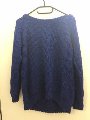 Topshop Petite Maglione lavorato a maglia blu