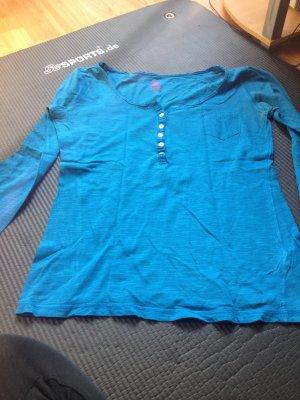 Blauer Pullover Größe 38