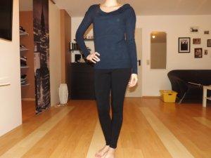 Blauer Pullover, Größe S/M