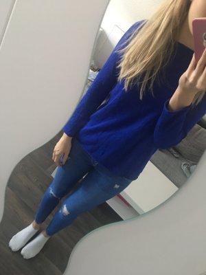 Blauer Pullover in 36/38