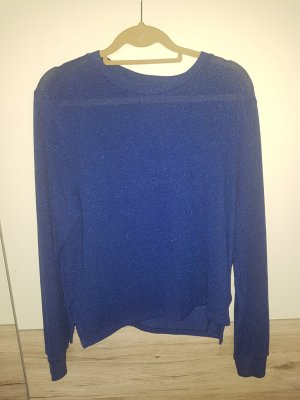 H&M Crochet Shirt blue