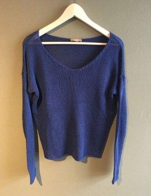blauer Pullover Orsay