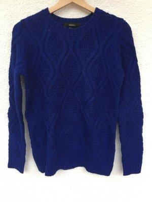 blauer pullover von forever 21