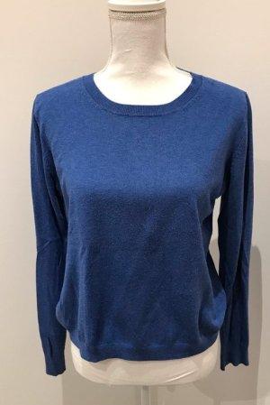 Blauer Pullover von Ludwig Beck in L