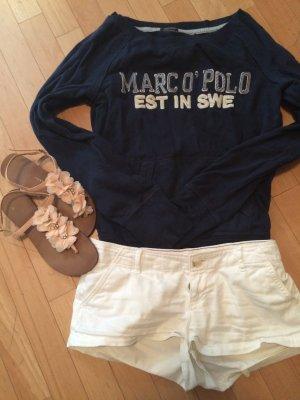 *blauer Pullover von Marc O'Polo*