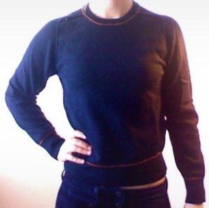 Nike Jersey de lana azul oscuro Lana