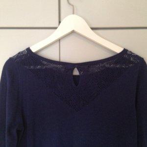 blauer Pullover von Promod, Gr. M