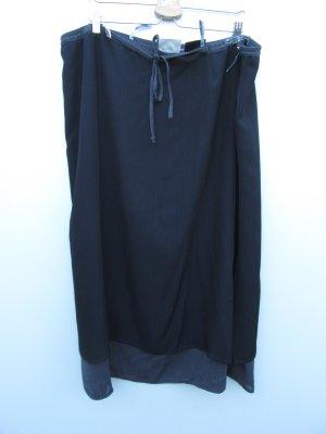 Vintage Maxi Skirt dark blue-blue