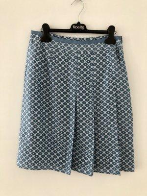 Blauer Seidenrock von Esprit Collection