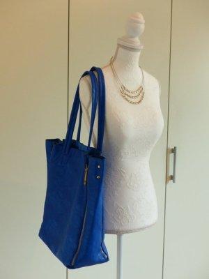 Shopper bleu clair