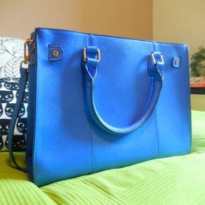 blauer Shopper von Accessorize