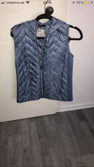 Street One Quilted Gilet azure