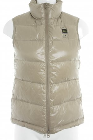 Blauer Quilted Gilet oatmeal casual look