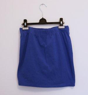 Blauer Stretchrock