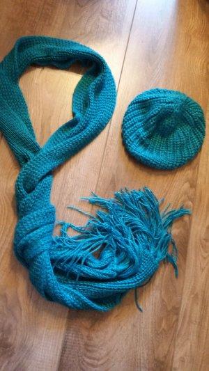 Pimkie Gebreide sjaal neon blauw-blauw