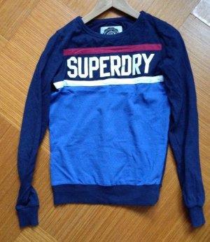 Blauer Superdry Pullover Gr S