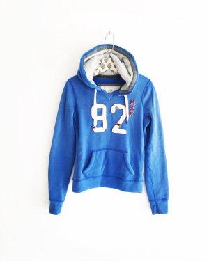 blauer sweater / hoodie / abercrombie & fitch / blue / sweatwear