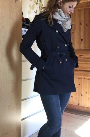 Zara Trenchcoat bleu foncé