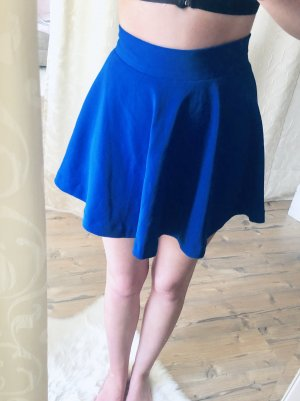 Tulip Skirt blue-steel blue