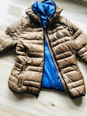 Blauer Quilted Jacket light brown-blue