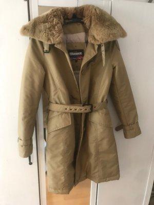 Blauer Abrigo de invierno crema-beige