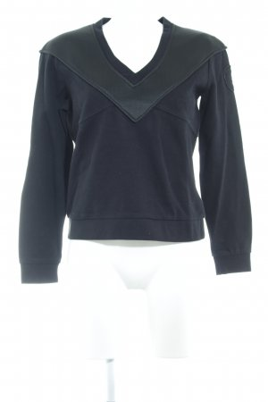 Blauer V-Neck Sweater black casual look
