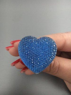 Blauer verstellbarer Ring