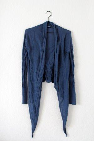 Mexx Cardigan en crochet bleu acier coton