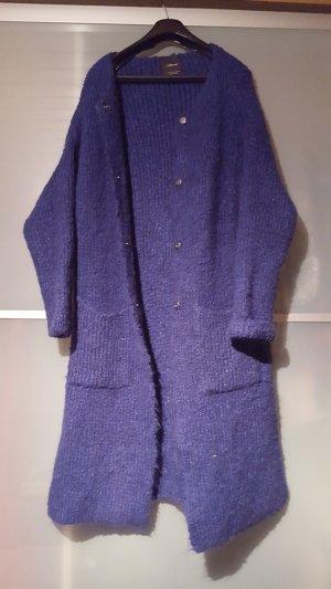 blauer Zara Knit Cardigan Größe M