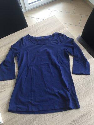 Blaues 3/4 arm Shirt