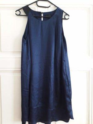 Blaues A-Linien Abendkleid, Gr. 38