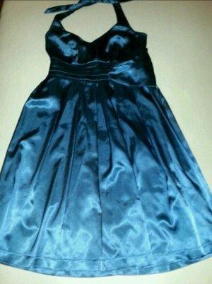 Orsay Robe épaules nues bleu acier
