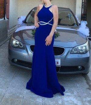 Blaues Abendkleid...