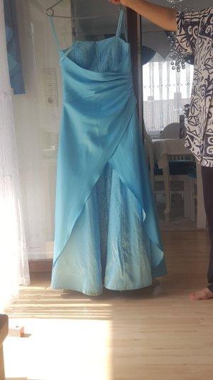 blaues Abendkleid gr.38