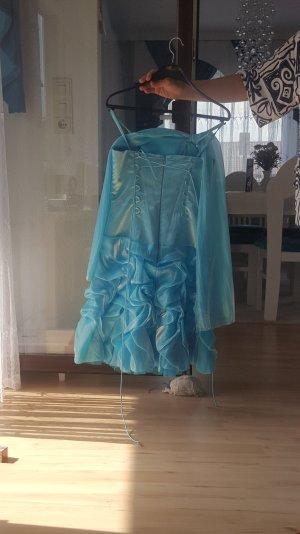 blaues Abendkleid in gr.36