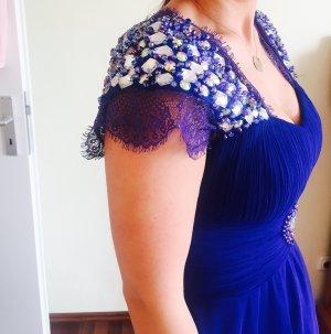 Blaues Abendkleid kurz sexy