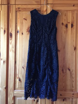 Next Vestido de noche azul oscuro